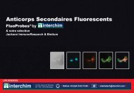 Anticorps Secondaires Fluorescents - Interchim
