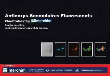 Anticorps Secondaires Fluorescents - Interchim