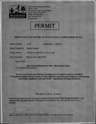 PERMIT - Pelican River Watershed District