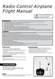Radio Control Airplane Flight Manual - High Definition Radio Control