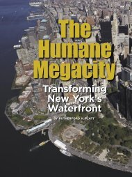 New York City Waterfront Study - The Humane Metropolis