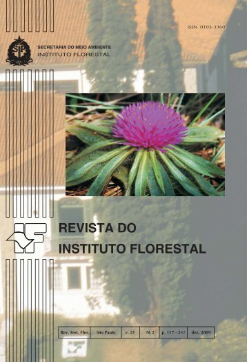 REVISTA DO INSTITUTO FLORESTAL