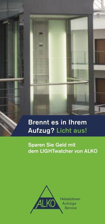 LIGHTwatcher, Flyer (PDF) - ALKO Fördertechnik GmbH