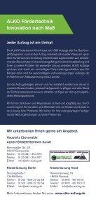 LIGHTwatcher, Flyer (PDF) - ALKO Fördertechnik GmbH - Seite 4