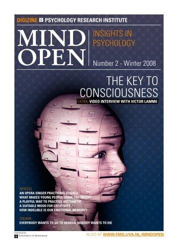 THe keY TO CONSCIOuSNeSS - MindOpen