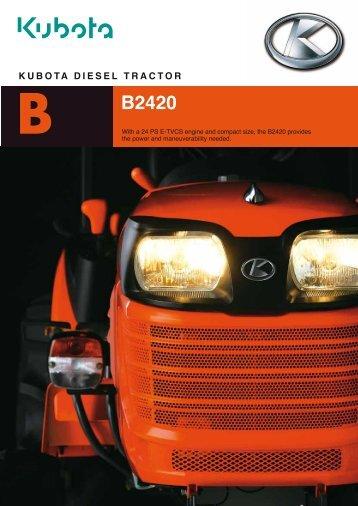 B B2420 - Kubota (Deutschland) GmbH