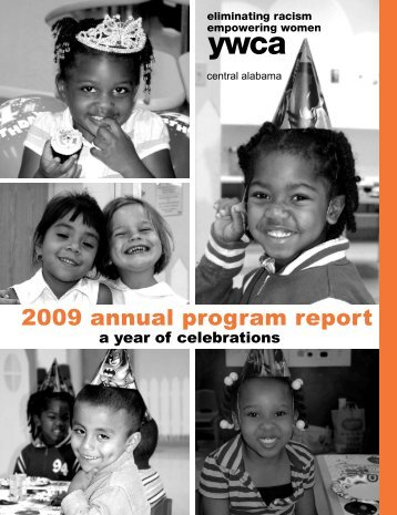 2009 annual program report - YWCA