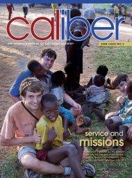 CALiber Fall 2008 - Christian Academy School System