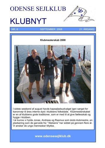 September 2008 - Odense Sejlklub