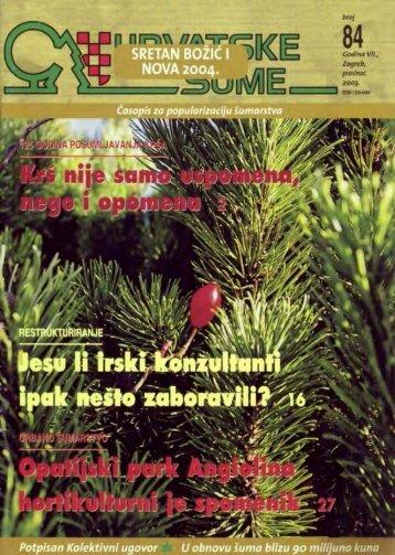 (i) u turizmu i ostalim djelatnostima - Hrvatske šume