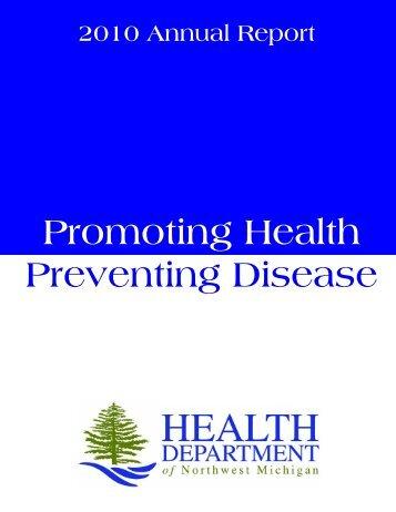 Annual Report 2010 - Health Department of Northwest Michigan