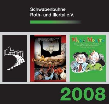 Spielerportrait Jugend Sommer 2008 - Schwabenbühne Illertissen