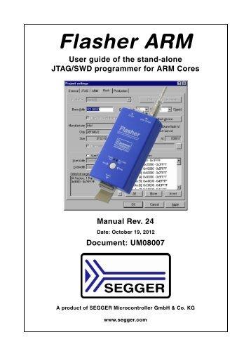 Flasher ARM User Guide - SEGGER Microcontroller