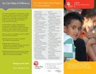 UW Employee Brochure - United Way of York Region