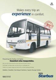 Starbus 24-Seater - Buses - Tata Motors