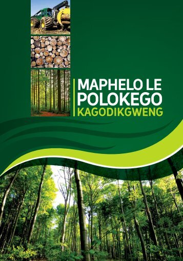 Health and Safety in Forestry- Sepedi - Department of Labour