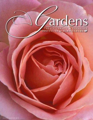 Spring|Summer 2013 - UT Gardens - The University of Tennessee