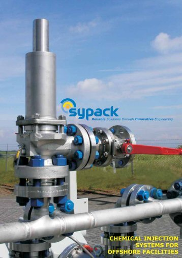 chemical injection systems for offshore facilities - SMARTfield