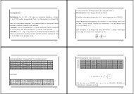 Gruppekoder Definisjon. La E : Zm 2 → Zn være en kodering ...