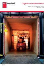 Logistics is mathematics - DTZ Zadelhoff