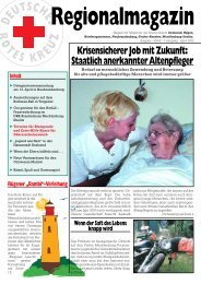 Ausgabe 1 (PDF-Datei) - DRK Kreisverband Rügen e.V.