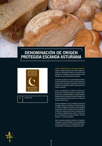 denominación de origen protegida escanda asturiana - Asturex