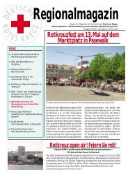 Ausgabe 2 (PDF-Datei) - DRK Kreisverband Rügen e.V.