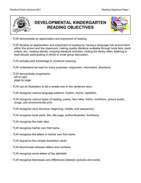 reading for appreciation and enjoyment activities