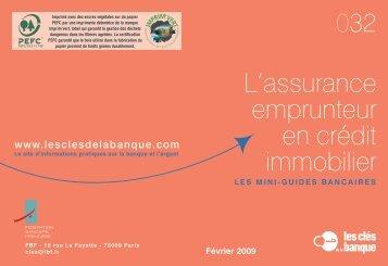 L'assurance emprunteur en crédit immobilier - Crédit Agricole ...