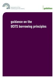 guidance on the UCITS borrowing principles - Alfi