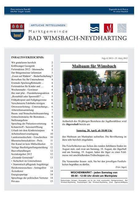 Bad wimsbach-neydharting frhstckstreffen fr frauen E markt