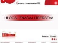 Liderstvo - Razvoj karijere