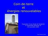 Présentation du projet - Site de Jean-François L'haire