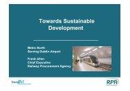Towards Sustainable Development - Fingal Development Board