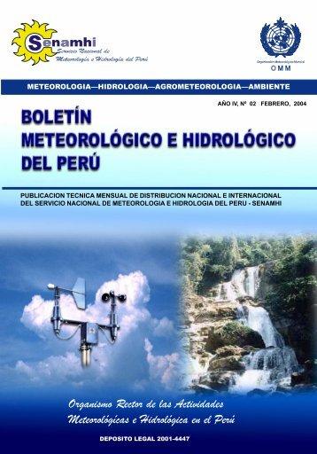 Organismo Rector de las Actividades Meteorológícas e Hidrológica ...