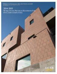On-Campus Handbook (PDF) - Financial Aid Office - University of ...