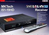 • sehr benutzerfreundliche Software • sehr ... - TELE-audiovision