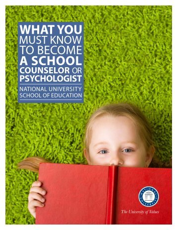 What You Must Know to Become a School Counselor or Psychologist
