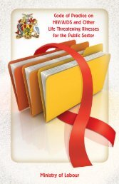 The Code of Practice on HIV/AIDS and other Life-Threatening ...