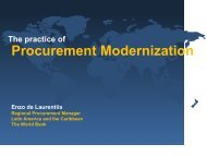 The Practice of Procurement Modernization - unpcdc