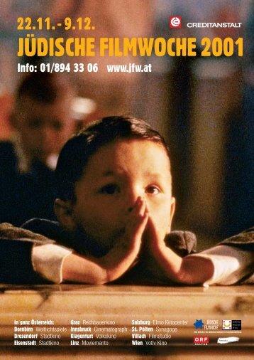 JÜDISCHE FILMWOCHE 2001 - Jüdisches Filmfestival Wien