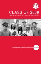 Class of 2009 - Indian Hill School District