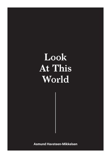 Look At This World - Asmund Havsteen