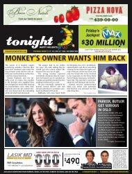 30 million - tonight Newspaper