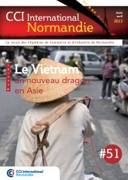 Le Vietnam un nouveau dragon en asie - CCI International Normandie