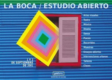 boca / estudio abierto - Buenos Aires Ciudad