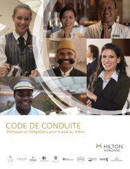 CODE DE CONDUITE - Hilton Worldwide