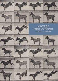VINTAGE PHOTOGRAPHY 1850 - 1900 - Shapero Rare Books