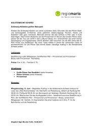 HOLSTEINISCHE SCHWEIZ ohne Schloss eutin PDF1 ... - regiomaris