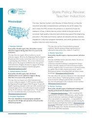 Mississippi - New Teacher Center